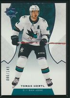 2019-20 Upper Deck Ultimate Collection Base #32 Tomas Hertl 086/149