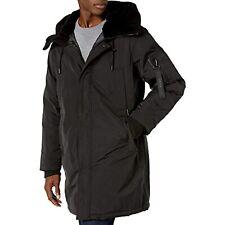 Vince Camuto Men's Insulated Winter Coat (Black, M)