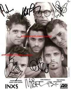 INXS Signed Autograph 8x10 PHOTO Michael Hutchence - REPRINT