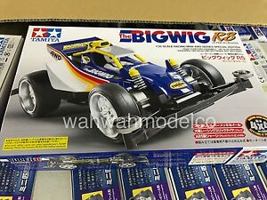 Tamiya 95308 1/32 Mini 4WD Car Kit Super II Chassis Jr The Bigwig RS Junior
