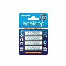 4 Pack Authentique Panasonic Eneloop AA MN1500 1900 mAh Ni-MH rechargeable battery