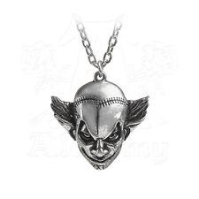 Alchemy of England M'era Luna Evil Clown Face Pendant Necklace
