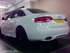 Audi A4 B8 08-11 Rear Bumper diffuser dtm abt style S line lip S-Line spoiler S4
