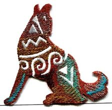 IRON ON PATCH SOUTHWEST COYOTE  2 5/8 X 2 3/4 inch