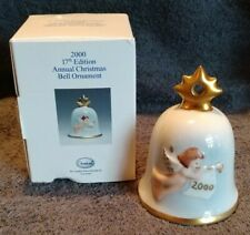 *Vintage 2000 Goebel / M. I. Hummel 17Th Edition Annual Bell Christmas Ornament*
