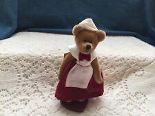 "Springford Miniature jointed bear  4"" pilgrim girl"