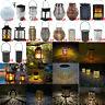 LED Solar Hanging Lantern Waterproof Outdoor Decor Lamp Garden Hanging Light