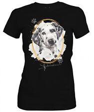 Señora camisa Dalmata Signature Dogs motivo by siviwonder