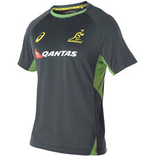 Wallabies 2016 Training T Shirt - Charcoal - Sizes S - 4XL  **SALE PRICE**