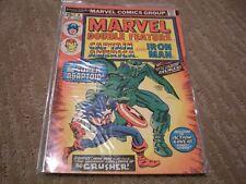 Marvel Double Feature #8 (1974 Serie) Marvel Comics Iron Man, Capt America FN/VF