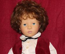 "26"" Vintage Sylvia Natterer Fanouche And Friends Doll Boy Marcel By Gotz,SN 145"