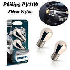 Philips PY21W Silver Vision 12V 12496SVB2 Ultimate Style Chrom Blinker Birnen