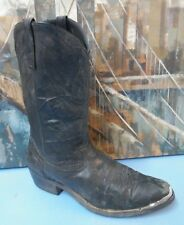 Western  leather cowboy boots Mens  size 11 D    Black  Style 68610