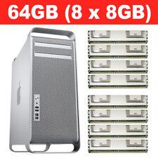 64GB (8X8GB) DDR2 MEMORY RAM PC2-5300 667MHz FBDIMM DIMM MAC PRO 2006 2007 2008