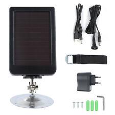7V Solar Panel Power Battery Source For Su HC300A HC300M HC500M Hunting Camera##