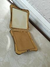 MIDCENTURY ELGIN AMERICAN COMPACT SILVER & GOLD TONE PREOWNED