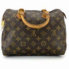 Louis Vuitton Speedy 25 monogram handbags M41528 with Padlock #DN295-264