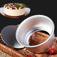 Baking Tools Dish Aluminum Alloy Die Cake Pan Removable Bottom Pudding Mold