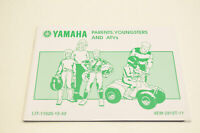 OEM Yamaha LIT-11626-15-42 Parents, Youngsters and ATVs Manual NOS