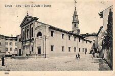 C000762   GORIZIA  GORZ  CORTE  SANT  ILARIO  E  DUOMO   ANIMATA     VG  1918