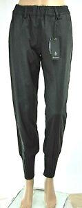 Pantaloni Donna BLEIFREI Stile Sport Affusolato Nero D511 Tg 40 46