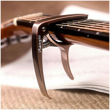 More details for capo acoustic, electric and classical guitars + banjo, bass brn bronze by adagio