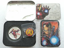 2014 Niue Marvel Avengers Iron Man $2 Two Dollar Silver Proof Coin