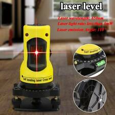 ZH-SL203 110° Self-leveling Cross Laser Level Red 2 Line 1 Point Worker Tool