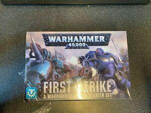 Warhammer 40k- First Strike - Rare Box Set - Sealed - UltraMarines - Death Guard