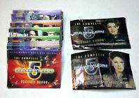 Complete Babylon 5 Trading Card Basic Set of 118 Cards (KATC-006)