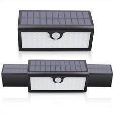 Waterproof 71 LED Solar Lamp Outdoor Garden Yard PIR Motion Sensor Wall Light