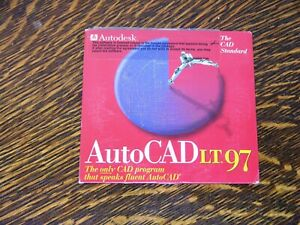 Autocad Lt 97 and Autocad Lt Learning Assistance for Autocad Lt 97
