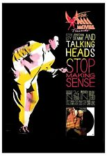 New listing New Wave: Talking Heads * Stop Making Sense * Movie Poster 1984 13x19