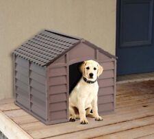 Cuccia per Cani in Plastica cm 71x71x68h Colore Beige / Marrone Starplast