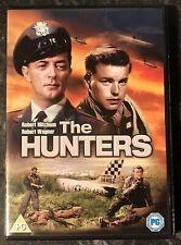 THE HUNTERS DVD 1958 (ROBERT MITCHUM-ROBERT WAGNER) GOOD AS NEW MINT FREE POST