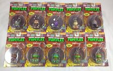 Complete Set of 10 Kidrobot TMNT Keychains Vinyl Art Toy Action Figures Full Lot