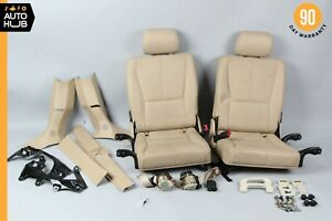 98-05 Mercedes W163 ML320 ML500 Rear 3RD Third Row Seat Cushion Assembly Beige