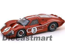 SC425 1967 FORD GT MK IV BROWN #3 LEMANS ANDRETTI 1:18 SHELBY COLLECTIBLES