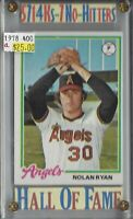 Nolan Ryan  California Angels  HOF  1978 Tops #400  BV-$25 Buy 1-Get 1 FREE!!