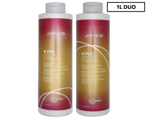 JOICO K-PAK COLOR THERAPY SHAMPOO 1 LITRE AND CONDITIONER 1 LITRE
