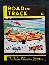 Road & Track June 1951  Jaguar - Ferrari - Argentina Races - Siracusa Grand Prix