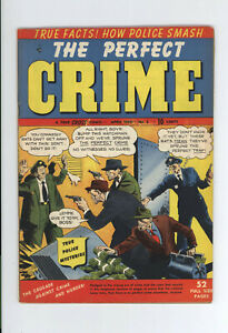 PERFECT CRIME #2 FN+ EXTREMELY RARE: Only two on CGC - 1950 - VIOLENT CRIME