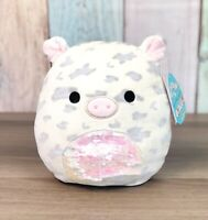 """Kellytoy Squishmallows 8"""" Rosie Spotted Pig W/Sequins LT ED HTF NEW Plush Toy"""