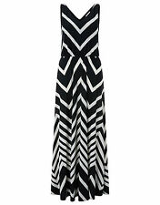 New Monsoon Khloe Striped Maxi Dress size 20 holiday beach wedding