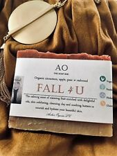 """Organically Yours """"Fall 4 U"""" Butter Bar Deluxe Handcrafted Seasonal Soap."""