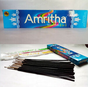 Ceylon Natural Scent 24 Amritha Incense Sticks Home Fragrance For Aromatherapy