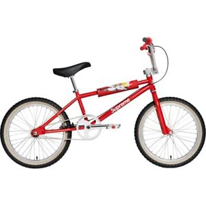 DEADSTOCK SUPREME x S&M 1995 BMX DIRTBIKE RED BIKE NEW IN BOX EXTREMELY LIMITED!