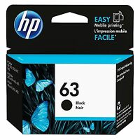 HP 63 Black Original Ink Cartridge - Free Next Business Day Delivery