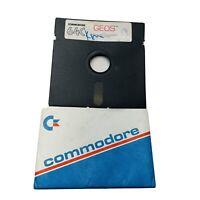 Vintage Commodore 64C GEOS 1986 Program Disk Quantum Link v1.3 Berkeley Software