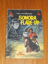 CLEVELAND WESTERN #1306 SONORA FLARE-UP BRITISH COMIC WALT BEAUMONT